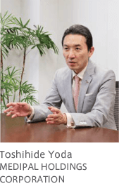 Toshihide Yoda MEDIPAL HOLDINGS CORPORATION